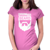 RESPECT THE BEARD. Womens Fitted T-Shirt