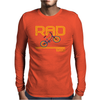 Retro 1980's BMX Bike Mens Long Sleeve T-Shirt