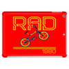 Retro 1980's BMX Bike Tablet (horizontal)
