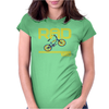 Retro 1980's BMX Bike Womens Fitted T-Shirt