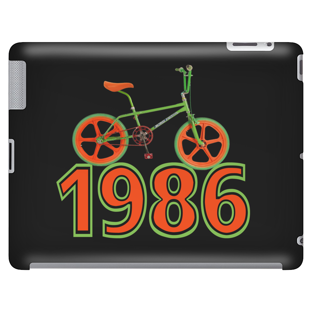 Retro 1986 BMX Bike Tablet