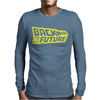 Retro Back to the future Mens Long Sleeve T-Shirt