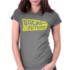 Retro Back to the future Womens Fitted T-Shirt