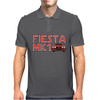 Retro Classic Car Mk1 Fiesta Mens Polo
