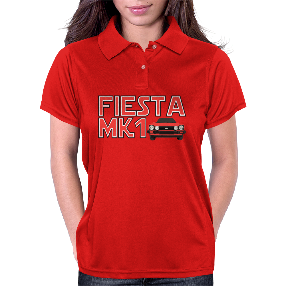 Retro Classic Car Mk1 Fiesta Womens Polo