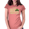 Retro Classic Cars Mk1 Fiesta Womens Fitted T-Shirt