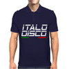 Retro ITALO DISCO Mens Polo