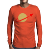 Retro Lego Space Mens Long Sleeve T-Shirt