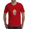 Retro Popcorn Bag Design Mens T-Shirt