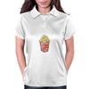 Retro Popcorn Bag Design Womens Polo