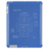 Retro Robot Blueprint Tablet