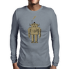 Retro Robot Mens Long Sleeve T-Shirt