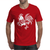 Retro Rooster. Mens T-Shirt