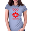 Retro Style Sarajevo 1984 Womens Fitted T-Shirt