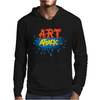Retro Tv Show Unofficial Art Attack Mens Hoodie