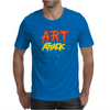Retro Tv Show Unofficial Art Attack Mens T-Shirt