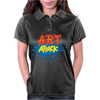 Retro Tv Show Unofficial Art Attack Womens Polo