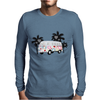 Retro van camper bus 1962 Mens Long Sleeve T-Shirt