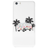 Retro van camper bus 1962 Phone Case