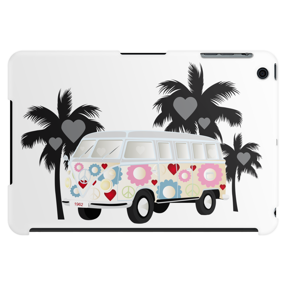 Retro van camper bus 1962 Tablet