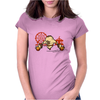 return Womens Fitted T-Shirt