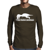 Rex Hates Pushups Mens Long Sleeve T-Shirt