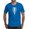 Ribcage Rock Zipper Rib Cage Skeleton Mens T-Shirt