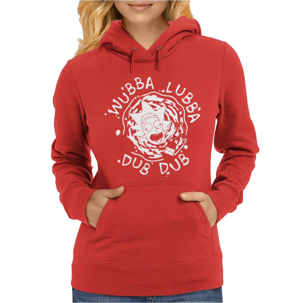Rick Riggity Wrecked Womens Hoodie