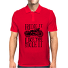 Ride It Like You Stole It Mens Polo