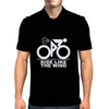 Ride Like The Wind White Mens Polo