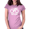 Ride Like The Wind White Womens Fitted T-Shirt
