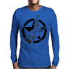 Riding Atom Bomb! Mens Long Sleeve T-Shirt