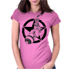 Riding Atom Bomb! Womens Fitted T-Shirt