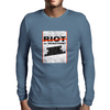 RIOT OR REACTION? Mens Long Sleeve T-Shirt