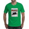 RIOT OR REACTION? Mens T-Shirt