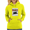 RIOT OR REACTION? Womens Hoodie