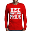Rise With Pride Mens Long Sleeve T-Shirt