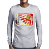 Rising Sun Samurai Sake Ad Mens Long Sleeve T-Shirt