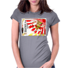 Rising Sun Samurai Sake Ad Womens Fitted T-Shirt