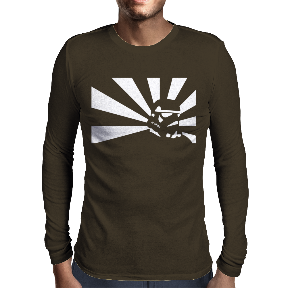 Rising Sun Stormtrooper Star Wars Mens Long Sleeve T-Shirt
