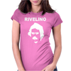 RIVELINO BRAZIL 70s FOOTBALL WORLD CUP LEGEND RETRO Womens Fitted T-Shirt