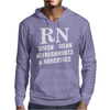 RN Doesn't Mean Refreshments and Narcotics Mens Hoodie