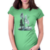Roads of Autumn Womens Fitted T-Shirt