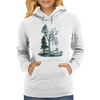 Roads of Autumn Womens Hoodie