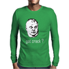 Rob Ford Got Crack Funny Political Mens Long Sleeve T-Shirt