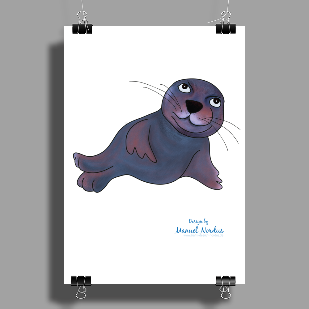 Robby - my best friend Poster Print (Portrait)