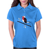 Robin in blue Womens Polo