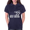Robocop Inspired ED 209 Womens Polo