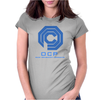 ROBOCOP - T-SHIRT - OCP LOGO - CULT MOVIE Womens Fitted T-Shirt