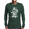 ROBOT funny Mens Long Sleeve T-Shirt